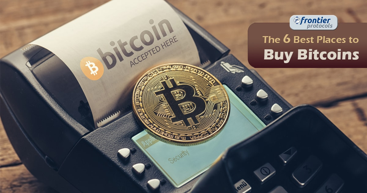 Best Places to buy bitcoin