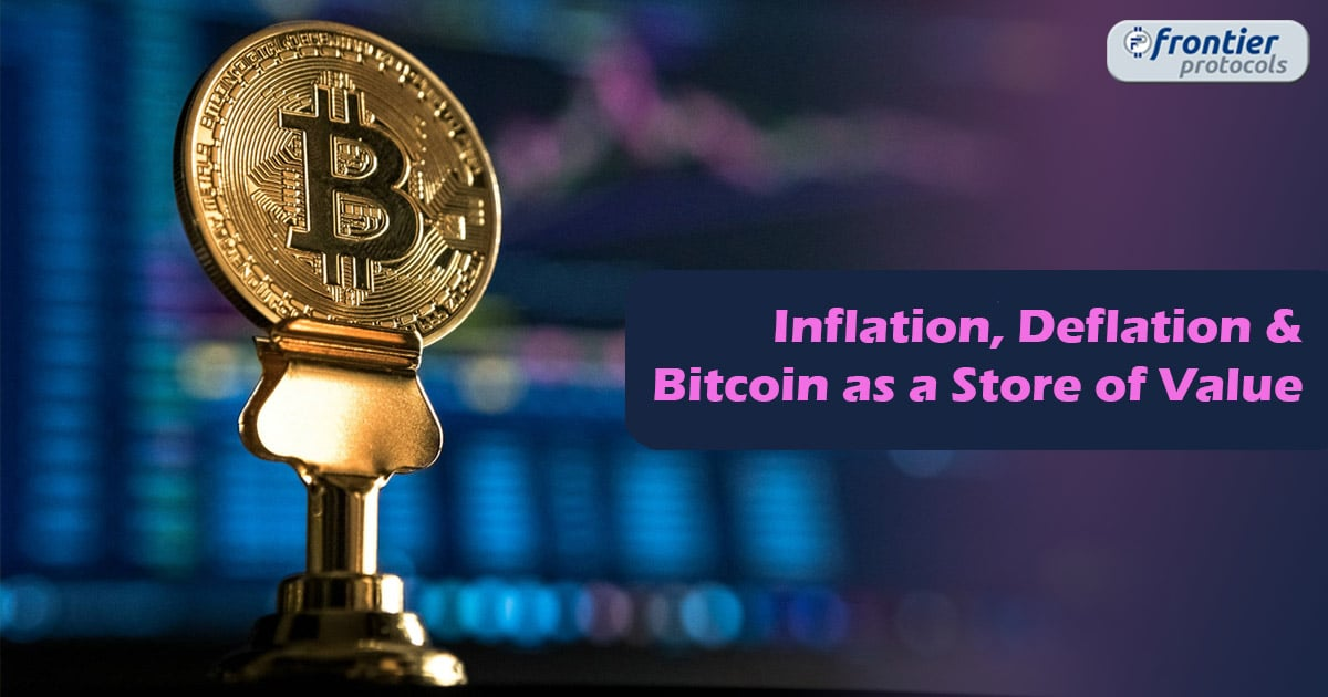 Inflation, Deflation and Bitcoin as a Store of Value